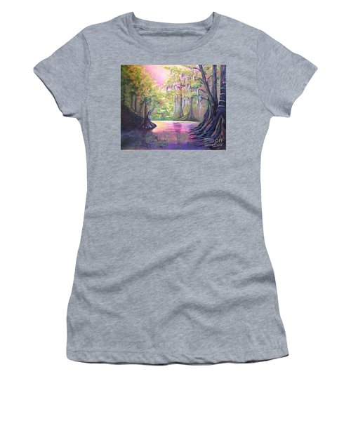 Withlacoochee River Nobleton Florida Women's T-Shirt (Athletic Fit)