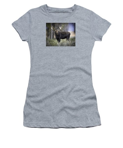 His Majesty Women's T-Shirt (Athletic Fit)