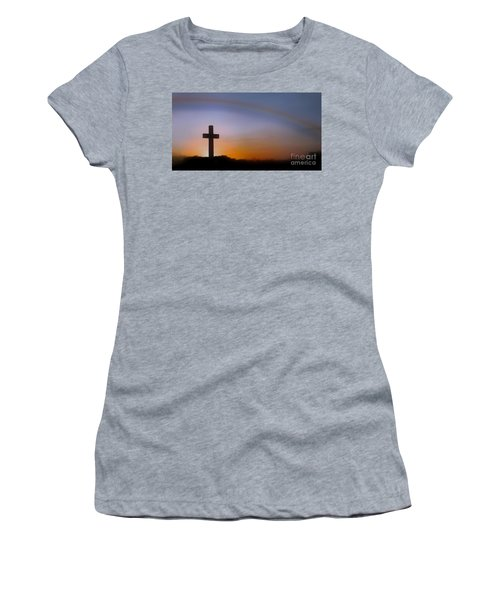 Women's T-Shirt (Junior Cut) featuring the photograph His Promise by Benanne Stiens