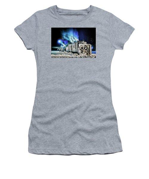 History Repeating Itself Women's T-Shirt (Junior Cut) by Jeffrey Jensen