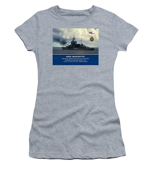 Hms Warspite Women's T-Shirt (Athletic Fit)