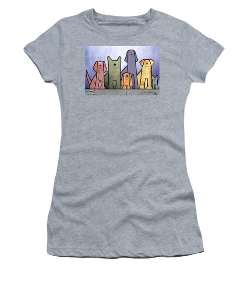 Holiday Women's T-Shirt (Junior Cut) by Joan Ladendorf