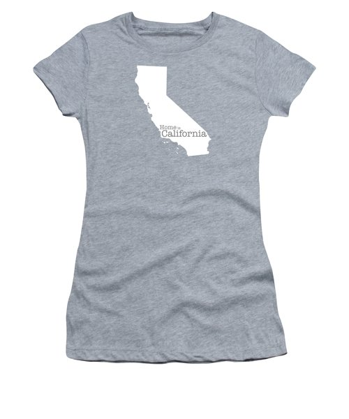 Home Is California Women's T-Shirt (Athletic Fit)