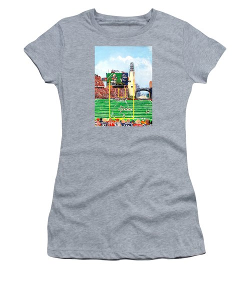 Home Of The Pats Women's T-Shirt (Junior Cut) by Jack Skinner
