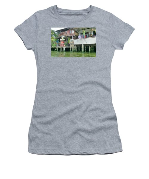 Homes On The Water Women's T-Shirt