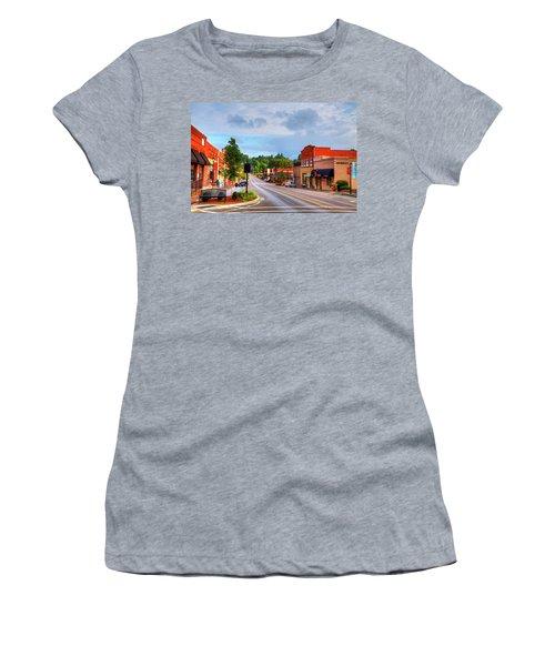 Hometown America Women's T-Shirt (Junior Cut) by Dale R Carlson