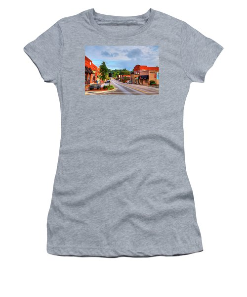 Hometown America Women's T-Shirt (Athletic Fit)