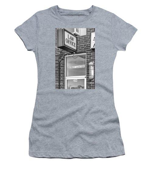 Honest Lawyer Bw Women's T-Shirt