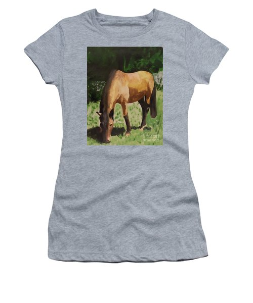 Horse Women's T-Shirt (Athletic Fit)