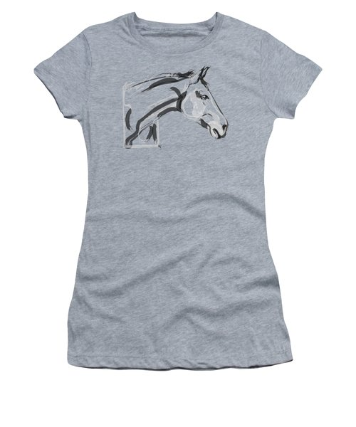 Horse - Lovely Women's T-Shirt (Athletic Fit)