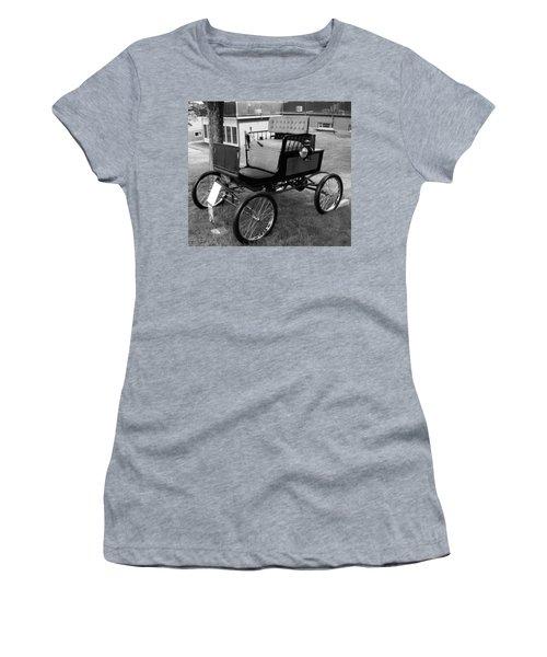 Horseless Carriage-bw Women's T-Shirt