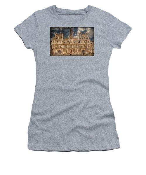 Paris, France - Hotel De Ville Women's T-Shirt