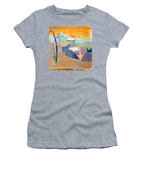 House On A Hill Women's T-Shirt (Athletic Fit)