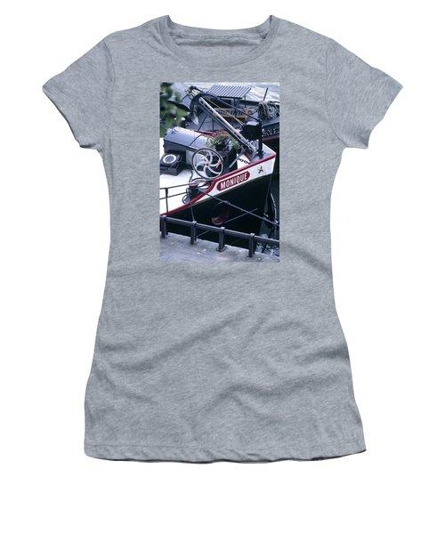 Houseboat In France Women's T-Shirt