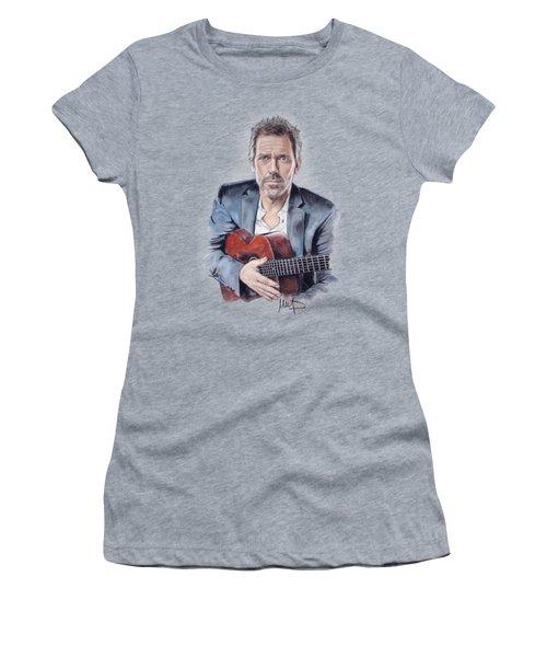 Hugh Laurie Women's T-Shirt (Athletic Fit)