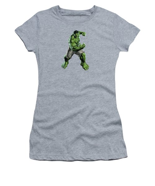 Hulk Splash Super Hero Series Women's T-Shirt