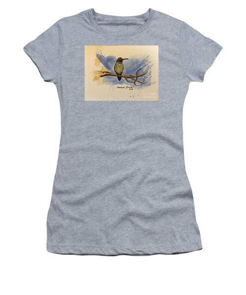 Hummingbird At Rest Women's T-Shirt