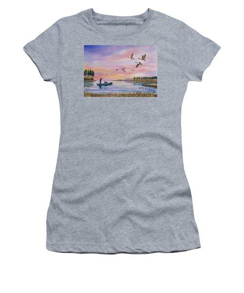 Hunter Heads Home Women's T-Shirt