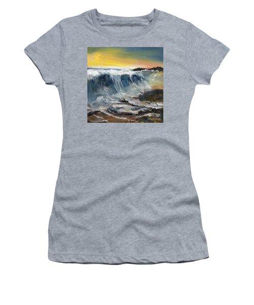 Hunter's Moon Women's T-Shirt (Junior Cut) by Randy Sprout