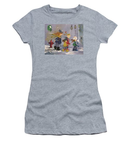 Hurry Home Women's T-Shirt (Athletic Fit)