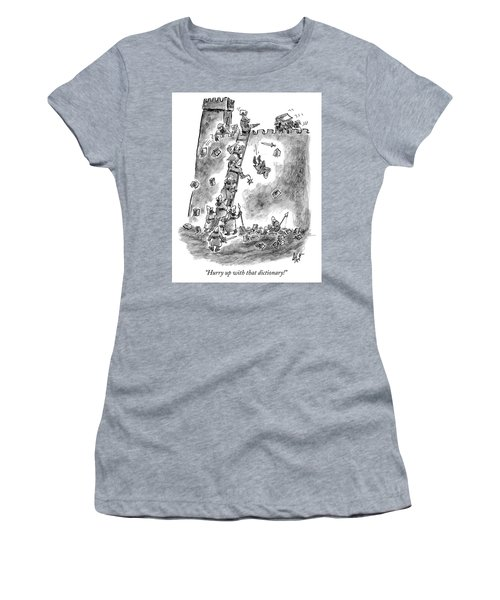 Hurry Up With That Dictionary Women's T-Shirt