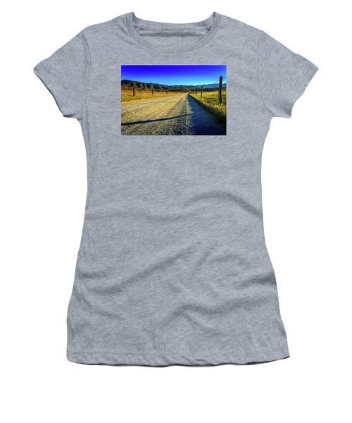 Women's T-Shirt featuring the photograph Hyatt Lane by Doug Camara