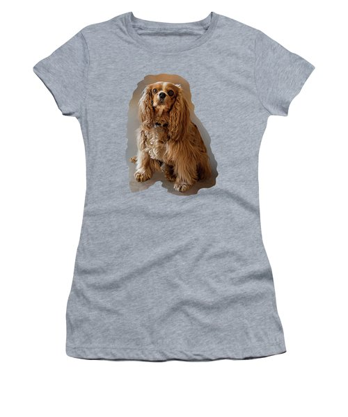 Royal Pose Women's T-Shirt (Athletic Fit)