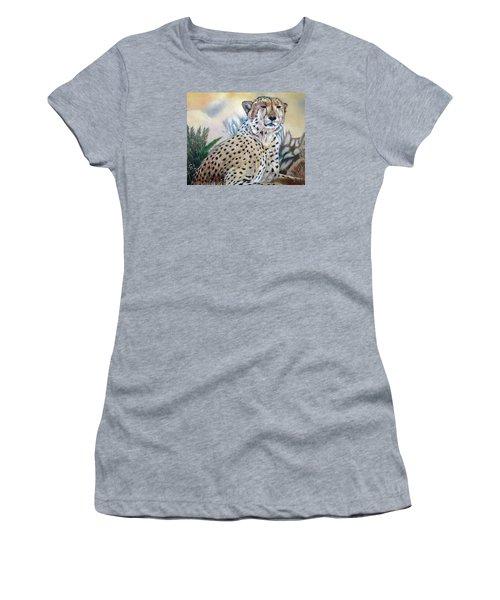 I Am Cheetah 2 Women's T-Shirt (Junior Cut) by Marilyn  McNish