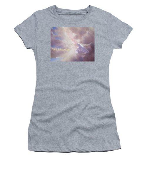 I Am Listening Women's T-Shirt