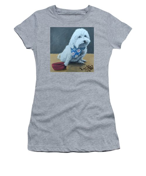 Women's T-Shirt featuring the painting No Bowls by Kevin Daly