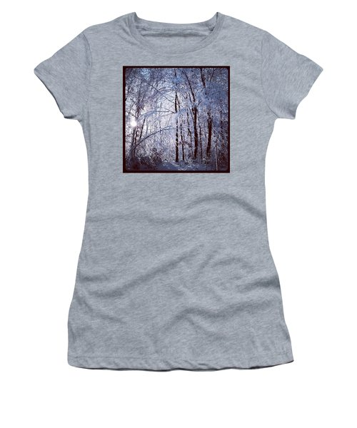 Ice Ladened Forest Women's T-Shirt (Athletic Fit)