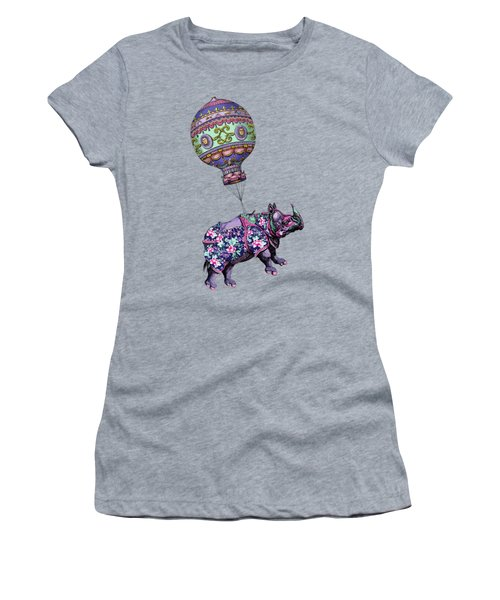 If Rhinos Could Fly Women's T-Shirt (Athletic Fit)