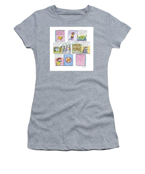 If You Give A Mouse A Fancy Pillow Women's T-Shirt