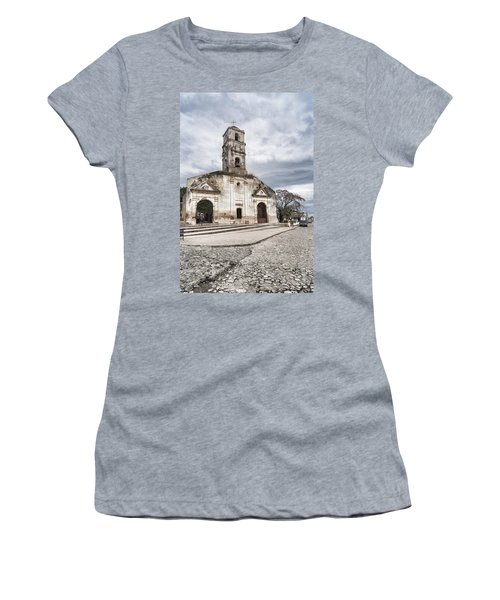 Iglesia De Santa Ana Women's T-Shirt (Athletic Fit)