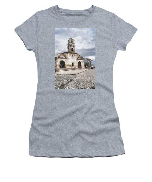 Iglesia De Santa Ana Women's T-Shirt (Athletic Fit)
