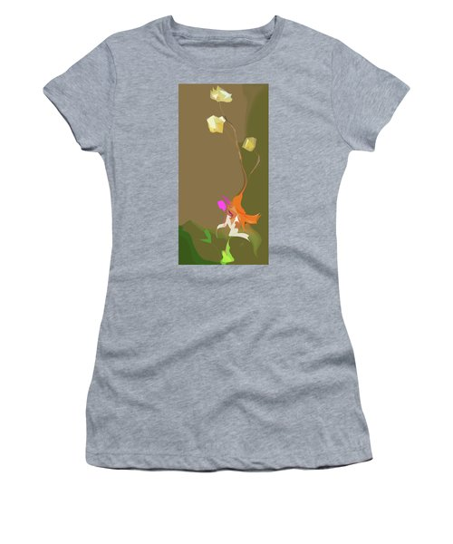Ikebana Humoresque Women's T-Shirt (Athletic Fit)