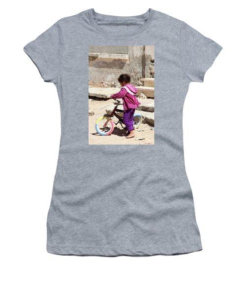 I'll Get It Straight First Women's T-Shirt (Junior Cut) by Jez C Self