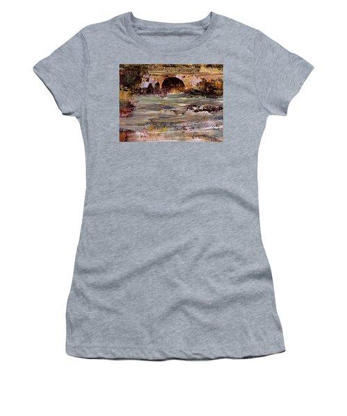 Imaginary Travel Women's T-Shirt (Junior Cut) by Nancy Kane Chapman