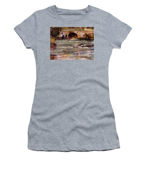 Imaginary Travel Women's T-Shirt (Athletic Fit)