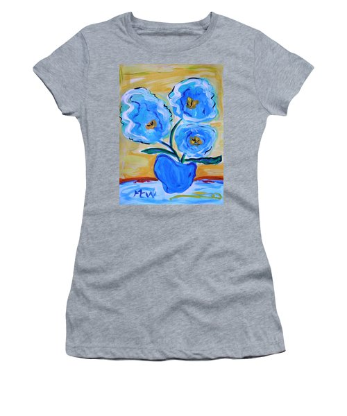 Imagine In Blue Women's T-Shirt (Athletic Fit)