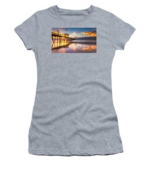 Women's T-Shirt (Junior Cut) featuring the photograph Imperial Burst by Ryan Weddle