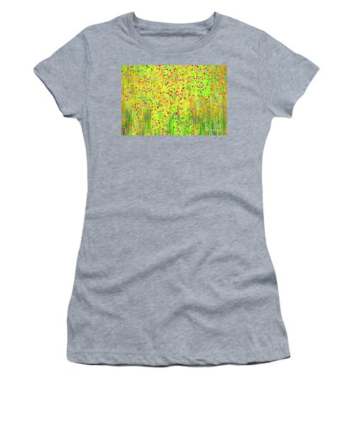 Impressionist Meadow Women's T-Shirt (Athletic Fit)
