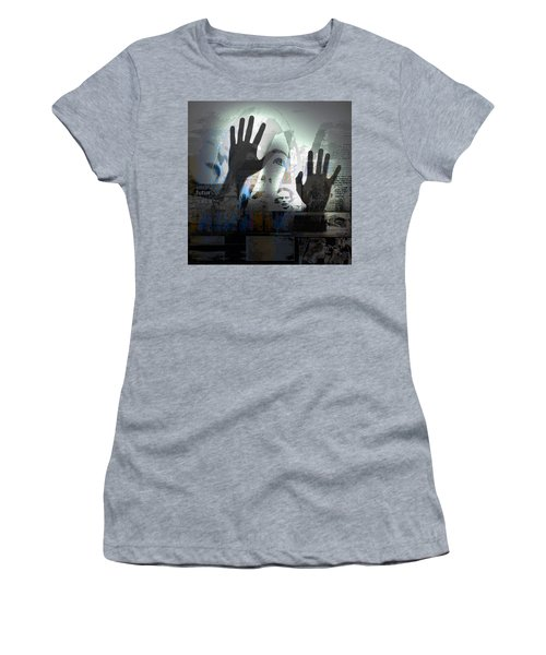 Women's T-Shirt (Junior Cut) featuring the photograph In A Vision, Or In None by Danica Radman