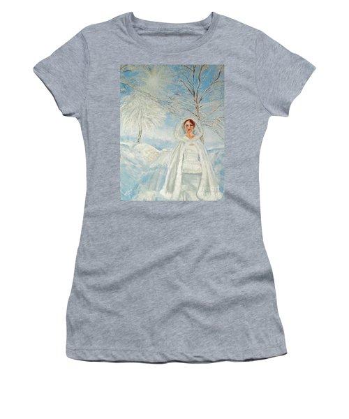 In Beauty I Walk Women's T-Shirt (Athletic Fit)