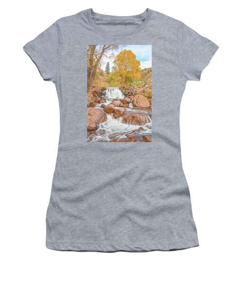 In Every Walk With Nature, One Receives Far More Than He Seeks, Wrote John Muir.  Women's T-Shirt (Athletic Fit)