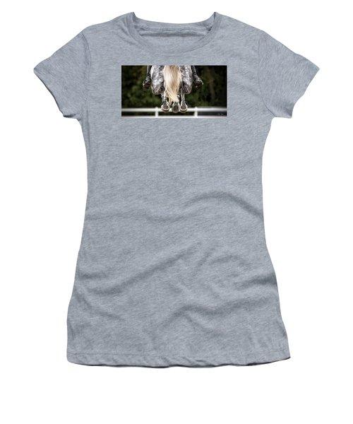 In Flight Women's T-Shirt (Junior Cut) by Joan Davis