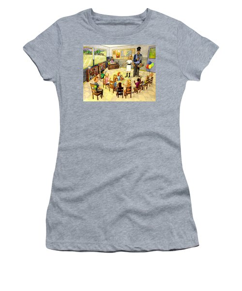 In The Classroom Women's T-Shirt (Athletic Fit)