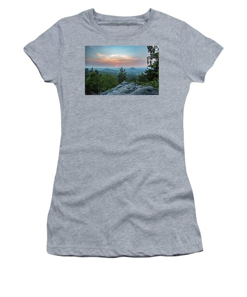 In The Land Of Mesas Women's T-Shirt (Junior Cut) by Andreas Levi