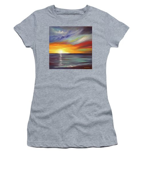 In The Moment Square Sunset Women's T-Shirt