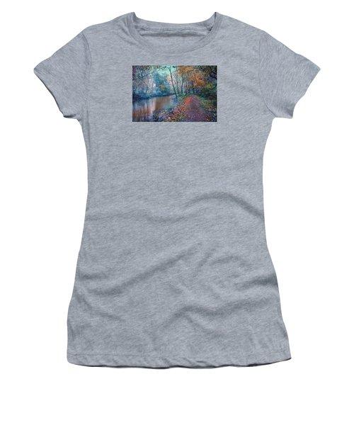 In The Stillness Of The Morning Women's T-Shirt (Junior Cut) by John Rivera